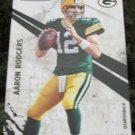 Aaron Rodgers 2010 Panini Rookies & Stars Football Card #51 Green Bay Packers