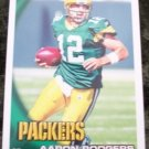 Aaron Rodgers 2010 Topps Football Card #150  Green Bay Packers