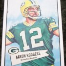 Aaron Rodgers 2010 Topps College to Pro Football Picture Card #52B-6