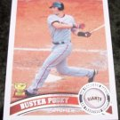2011 BUSTER POSEY Giants 2011 Topps Baseball Card #198 Rookie RC