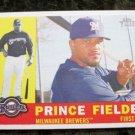 Prince Fielder 2009 Topps Heritage Baseball Card #380