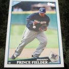 Prince Fielder Brewers 2009 Topps Baseball Card #480