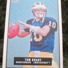 Tom Brady Patriots 2009 Topps Magic Football Card #145