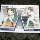 2011 Diamond Duos Ty Cobb & Miguel Cabrera #DD-CC