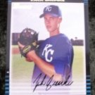 Zack Greinke Royals Rookie RC 2002 Bowman Baseball Card #DDP6