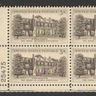 USA Scott #1081 3-c Plate Block MNH X-Fine