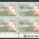 USA Scott #1248 Nevada Statehood Zip Block MNH F-VF
