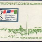 UNITED STATES Scott #1311 6th Int Philatelic Exhibition Washington, DC 1966 Souvenir Sheet MNH