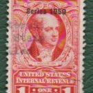 USA Scott #R548 $1.00 Documentary Revenue Stamp 1950 F-VF