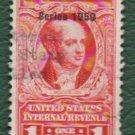 USA Scott #R548 $1.00 Documentary Revenue Stamp 1950 F-VF