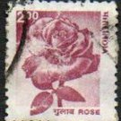 INDIA Rose Definitive 2r Scott #1979 Issue 2002