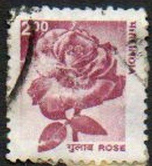 INDIA Rose Definitive 2r Scott #1979 Issue 2002