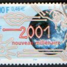 FRANCE Scott #2788 New Millennium 3,00fr/0,46E Issued 2000