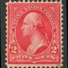 United States Scott #279B Red Type IV George Washington 1899 Used