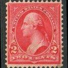 United States Scott #279B Red Type IV George Washington 1899 Used