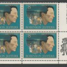 United States Scott #1485 Robinson Jeffers 8-c ZIP Block of 4 1973 MNH