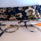 High Quality Reading Glasses 8205-1025 Floral +1.75