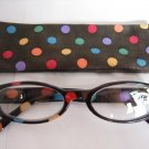 High Quality Reading Glasses 8308-5014 Polka Dot +2.25