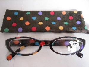 High Quality Reading Glasses 8308-5014 Polka Dot +2.25