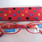 High Quality Reading Glasses 8308-5022 Polka Dot +1.00