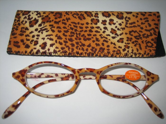 High Quality Reading Glasses 8201-3020 Animal +1.75