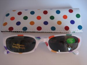 High Quality Sun Reader 8301-5013 Polka Dot +1.50 UV400
