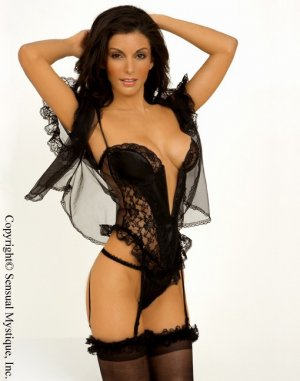 Satin and lace 3 piece set