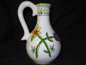 Cute Festive Ceramic Vase - Liz Ceramica - Brazil