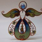Stained Glass Angel Candle Holder