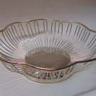 Silver Plated Wire Basket Dish