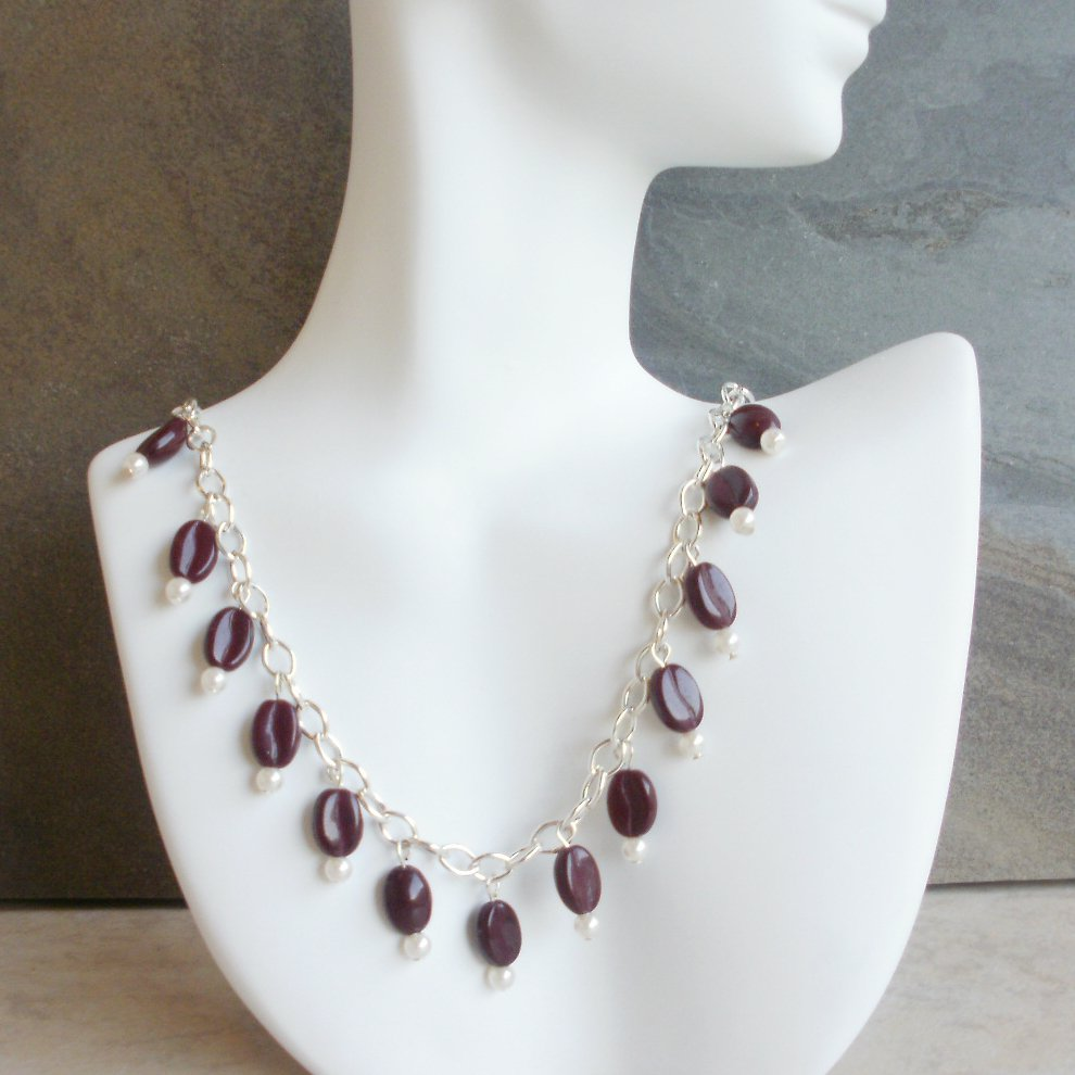 Rachel - Coffee Bean Necklace for Espresso or Coffee Lovers