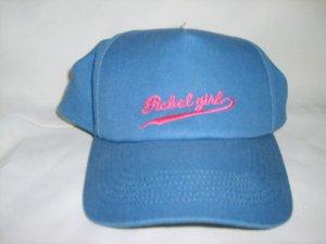 Rebel Girl blue baseball hat