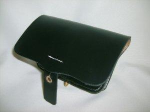 Leather Pistol Box - Black