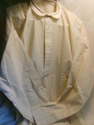 Plain Muslin Shirt size L