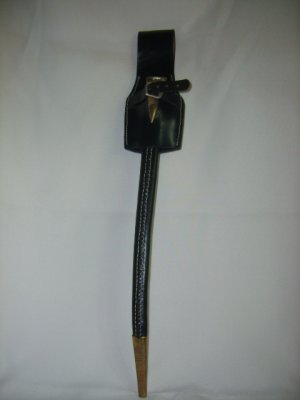 Leather Scabbard & Frog - Black - Enfield