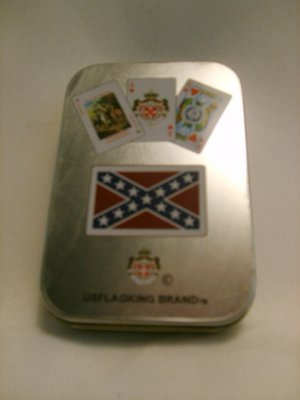 Rebel Playing Cards in a Tin
