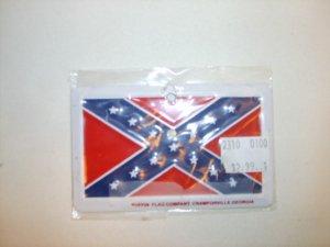 Rebel Flag Bike Plate