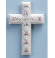 Girl Baptism Cross 42829