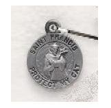 St. Francis Cat Medal SM5802
