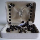 BLACK ROSARY SR3529PC