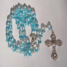 MARCH BIRTHSTONE ROSARY RS110