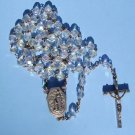 LOURDES WATER ROSARY ROS162