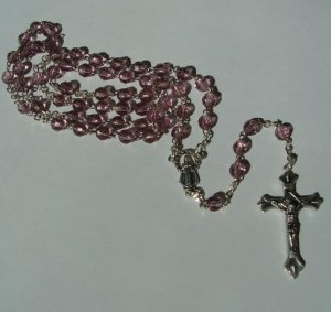 JUNE BIRTHSTONE ROSARY SR3616
