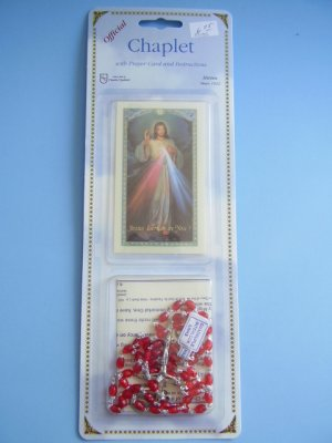 CHAPLET OF DIVINE MERCY RS135