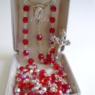 RED ROSARY SR3585RDJC