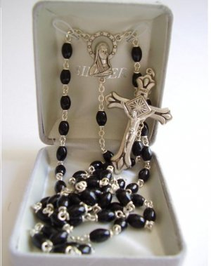 BLACK ROSARY SR3518JC
