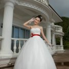 Stunning Ivory Sweetheart Ball Gown Wedding Dress D60395