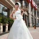 Charming Ivory One-shoulder Princess Wedding Dress  D60410