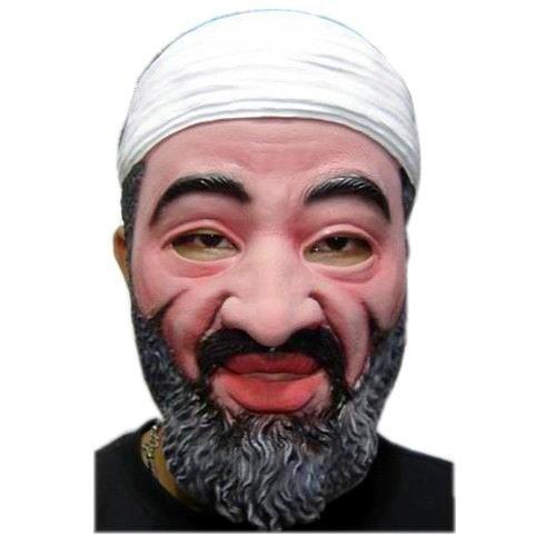Notorious Mustache Bin Laden Halloween Mask D65530