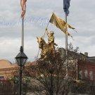 NO 9, 8x10 Print - Fine Art Image Photo Digital, new orleans bourbon st architecture tree horse